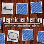 Wegzeichen Memory
